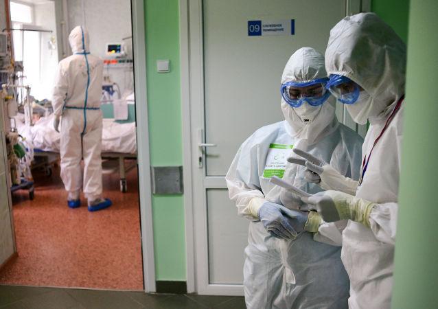 俄羅斯單日新增9709例COVID-19確診病例