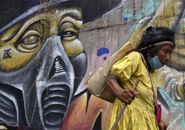 哥倫比亞單日新增新冠死亡病例數創新高