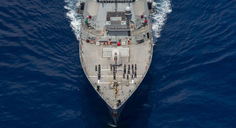 美國導彈驅逐艦「拉斐爾·佩拉爾塔」號(USS Rafael Peralta)