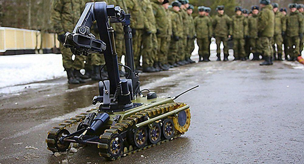 俄工程兵部隊列裝MIKR移動工程排雷系統