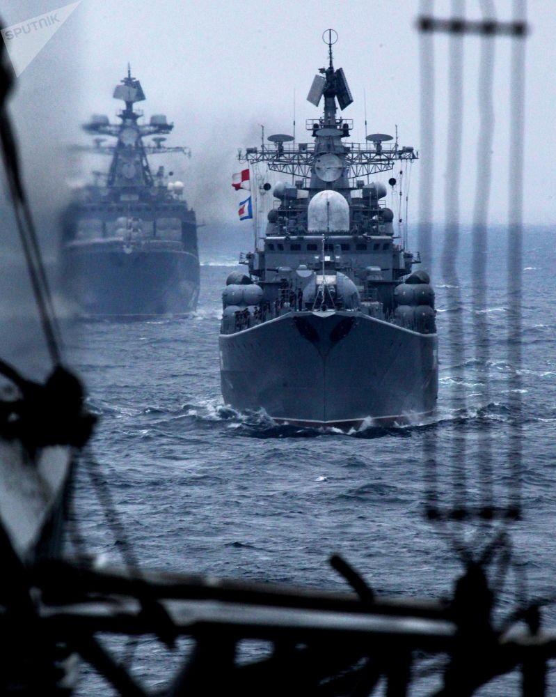 符拉迪沃斯托克俄中「海上聯合-2015「演習