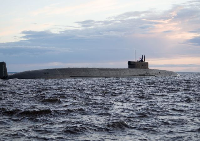 俄海軍接收最新型核潛艇「弗拉基米爾大公」號