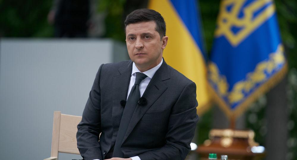 烏克蘭總統澤連斯基