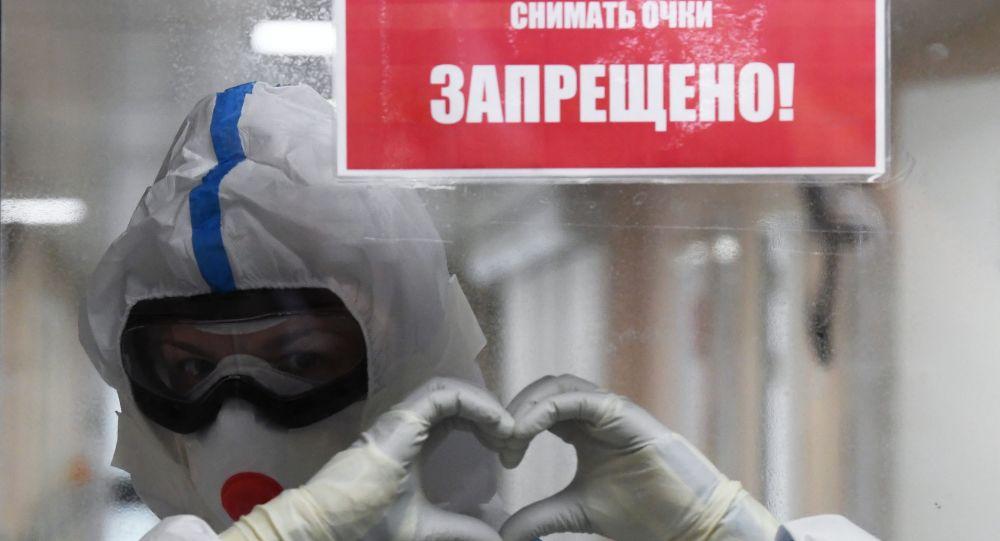 「今日俄羅斯」國際通訊社發起線上活動支持醫務人員