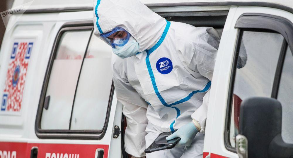 俄防疫指揮部:俄新增9268例新冠病毒感染病例 累計病例超40萬例