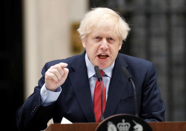 英國首相約翰遜