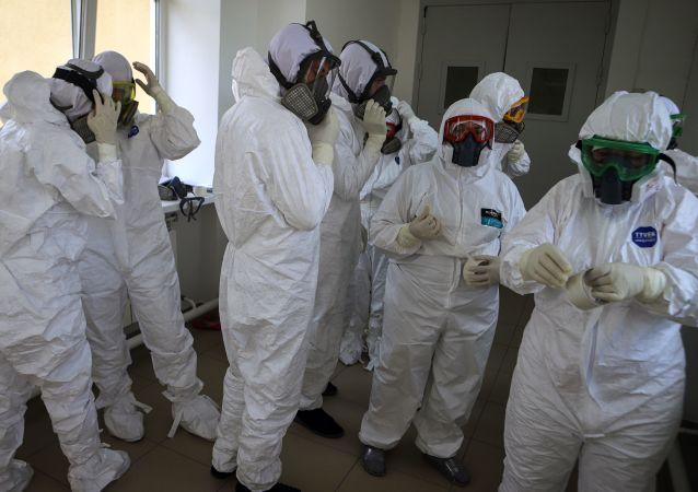 吉爾吉斯斯坦總統感謝俄醫務人員援助抗擊新冠病毒