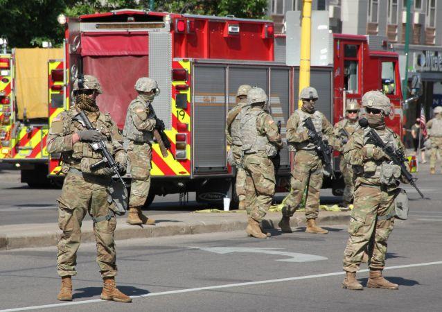 白宮:美政府將增派力量制止騷亂