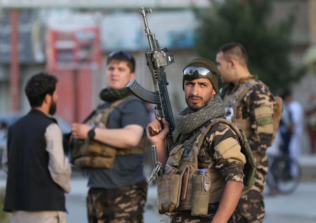 阿富汗警員