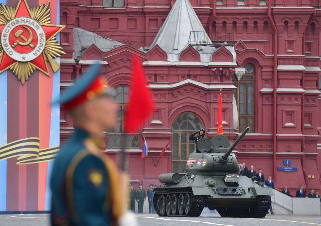莫斯科勝利日閱兵式夜間彩排將推遲至6月14日進行