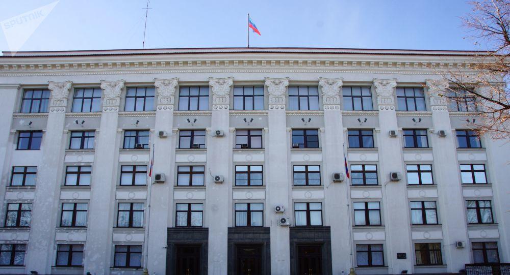 自行宣佈成立的盧甘斯克人民共和國人民委員會