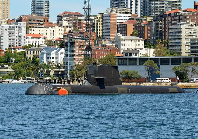 澳大利亞自產的柯林斯級柴電潛艇