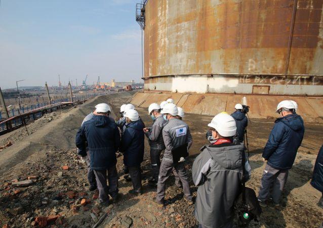俄諾里爾斯克柴油洩漏事故再有三名涉案人員被拘留