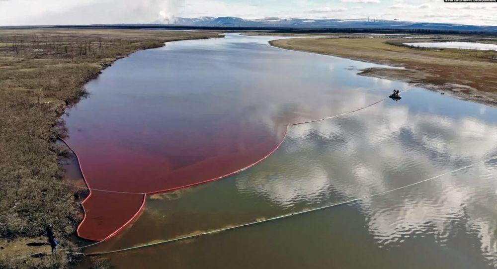 俄自然資源監督局評估諾里爾斯克柴油洩漏造成環境損失20億美元