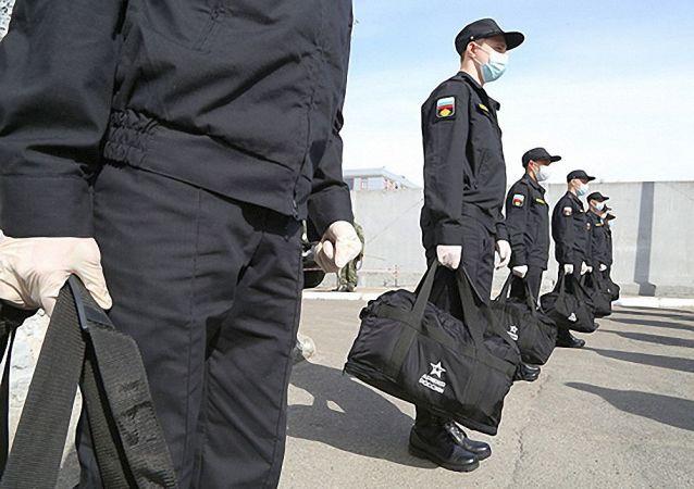 俄北方艦隊春季徵兵按計劃進行