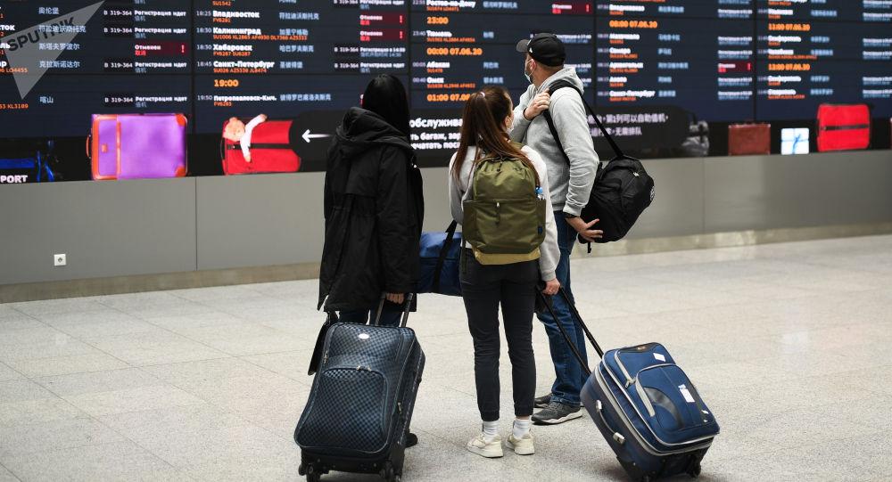 乘坐國際航班抵達俄羅斯需自我隔離