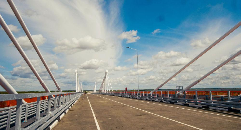 俄州長:阿穆爾州2021年將與中國一起決定轎車和貨車沿跨阿穆爾河大橋通行的條件