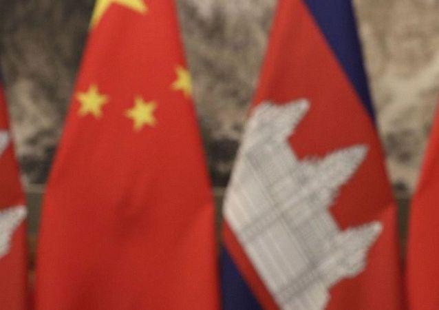 中國和柬埔寨