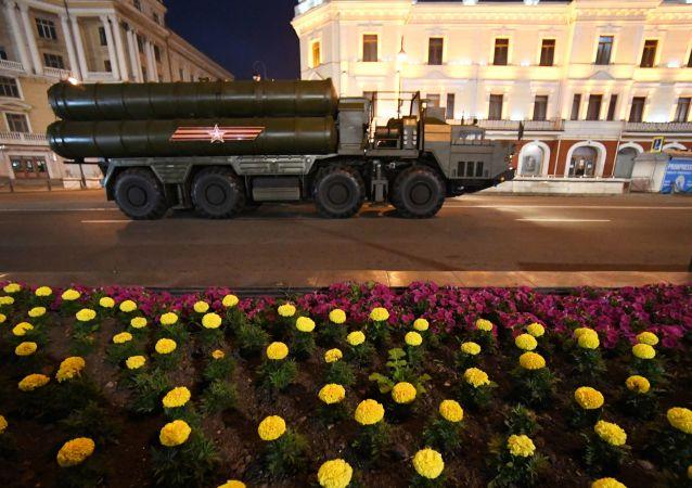 軍事裝備已被調往莫斯科以作閱兵之用