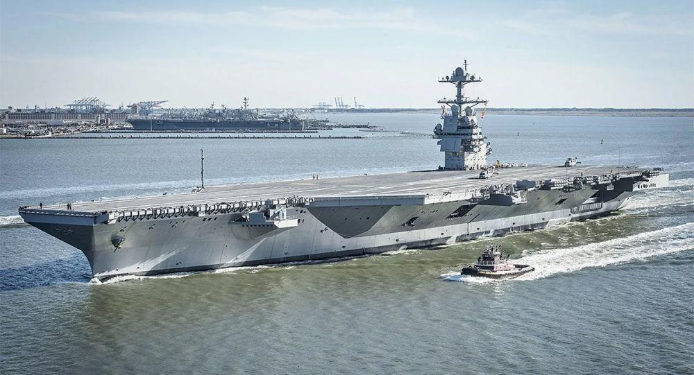 美國最新航母試航出故障