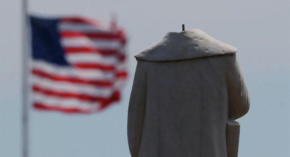 克里斯托弗∙哥倫布的雕像