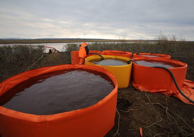 諾里爾斯克油料洩漏後可能在近郊鋪設泵運管道