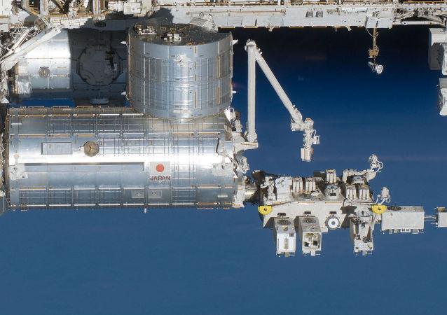 國際空間站的日本「希望」(Kibo)號艙移