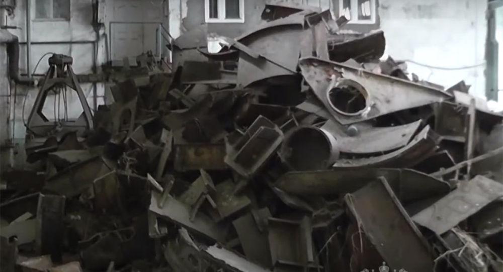 俄媒:試圖當廢鐵將一艘核潛艇運往中國