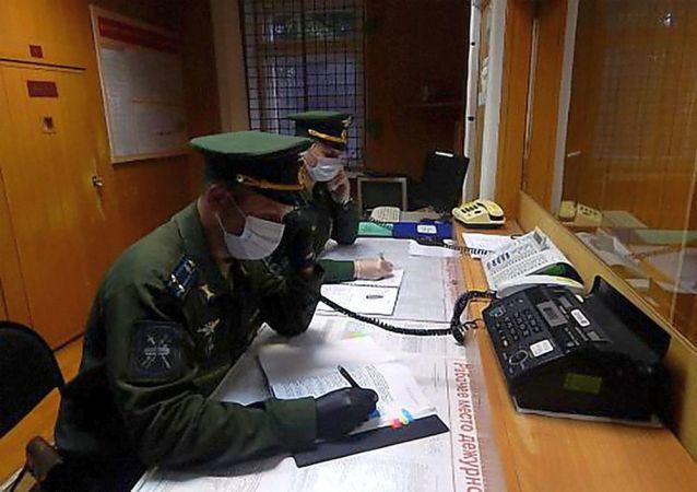 俄宇宙空間監控中心開展綜合反恐訓練