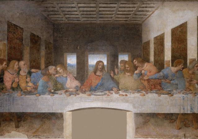 列奧納多·達·芬奇著名的畫作《最後的晚餐》