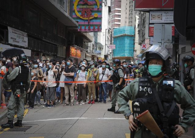 香港立法會前反對派議員涉擾亂會議秩序案將於明年2月再審