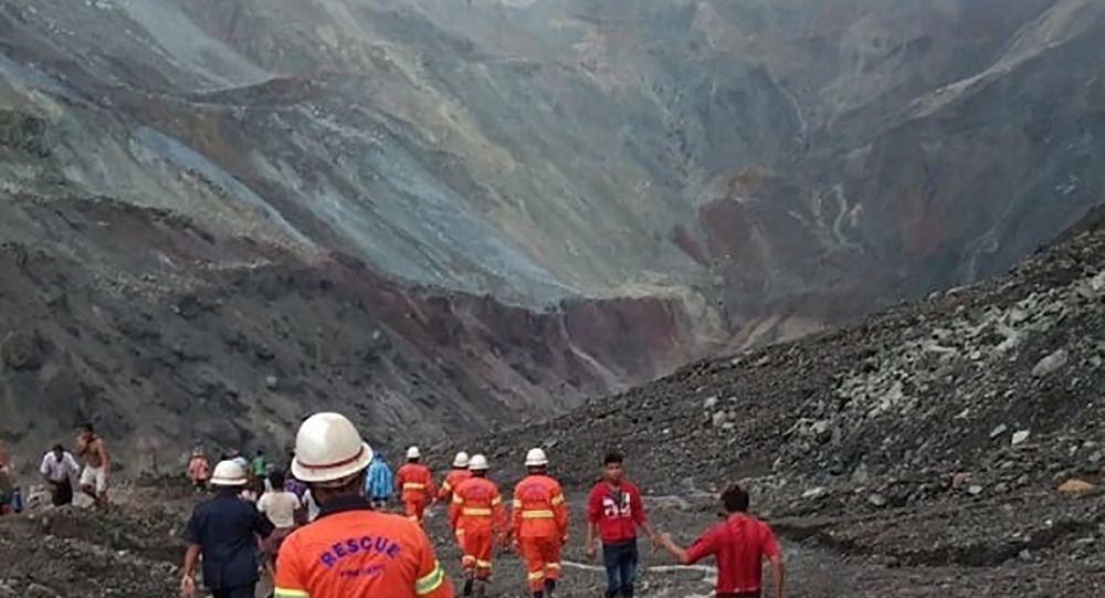 救援人員:緬甸山體滑坡遇難者人數增至162人