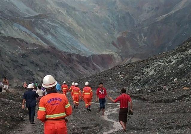 緬甸帕敢翡翠礦區塌方遇難人數升至172人