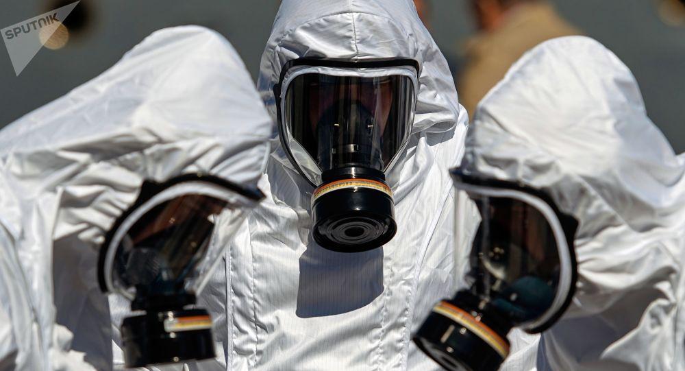 俄企:消毒通道不能治癒新冠病毒患者 但可殺死表面的病毒