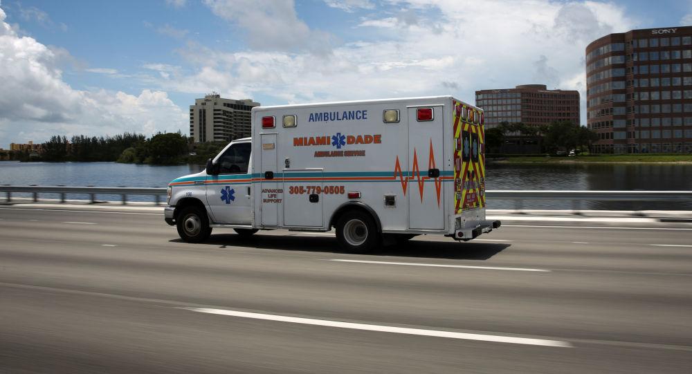 美國佛羅里達州救護車
