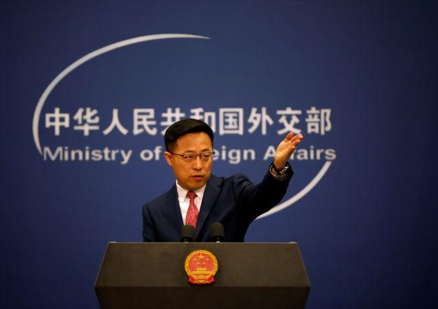 中國外交部發言人趙立堅