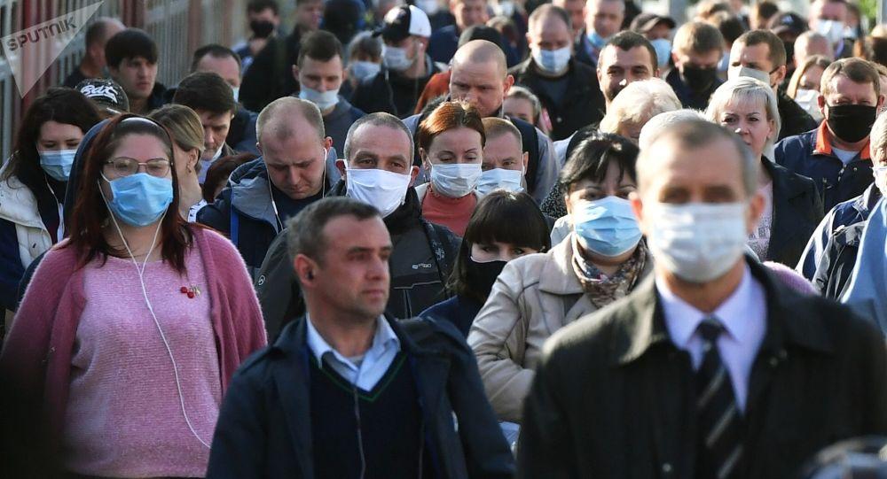 莫斯科防疫指揮部:莫斯科連續10多天確診COVID-19病例維持約600例的低位